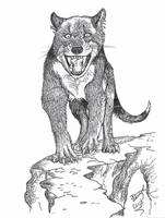 Wolf in cat clothing? by HodariNundu