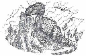 Neovenator by HodariNundu