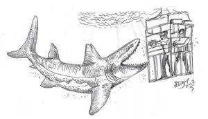 Big Old Shark by HodariNundu