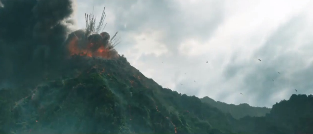 Erupting Volcano by HodariNundu