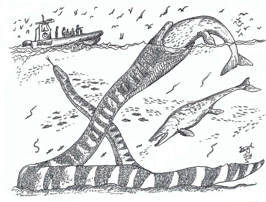 Palaeophis colossaeus by HodariNundu