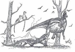 Asprosaurus Attack