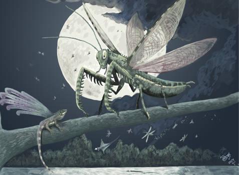 Triassic Terror: The Towering Titanopteran