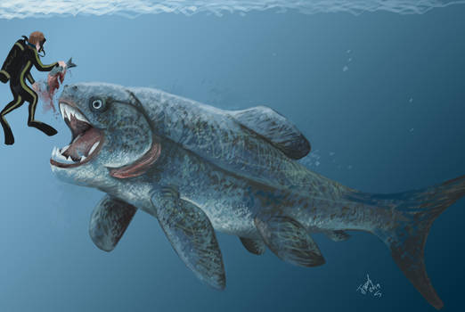Diving with Dunkleosteus