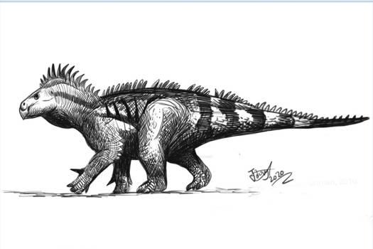 Iguanodont Doodle