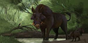 Megalochoerus homungous
