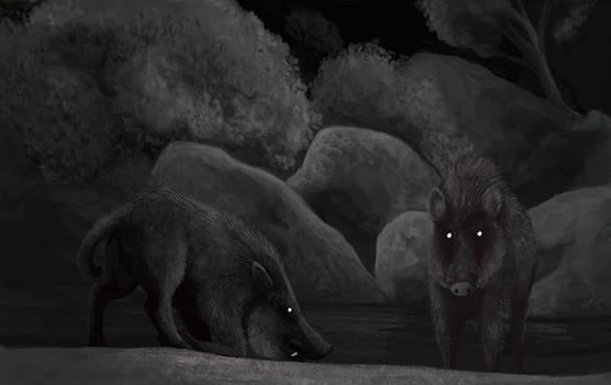 Pleistocene Camera Trap: Platygonus