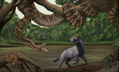 Palaeopython and Phosphoroboa