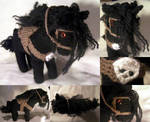 Vampire Hunter D's horse (FOR SALE) by limpet666