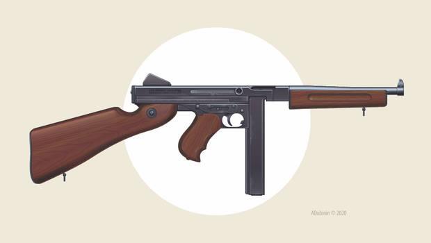 Thompson M1 (vector)
