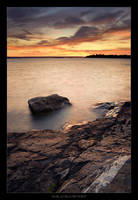 Dusk at McCort Point by tfavretto