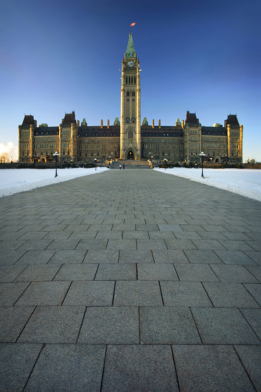 Parliament of Canada by tfavretto