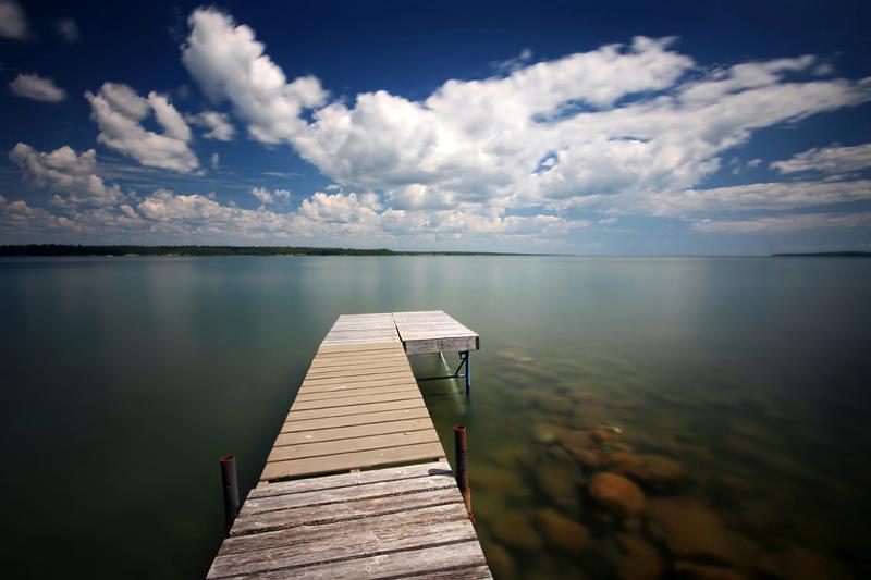 Canoe Point Dock by tfavretto