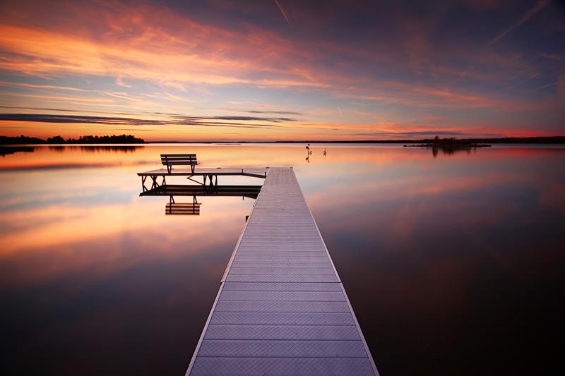 Calm Evening on St. Joseph Island by tfavretto