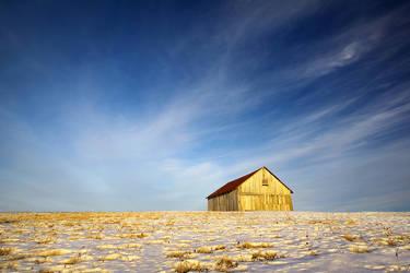 Hilltop Barn by tfavretto