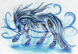 Blue Wolf by Troutwhisker