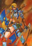 SAMURAI gunner girl