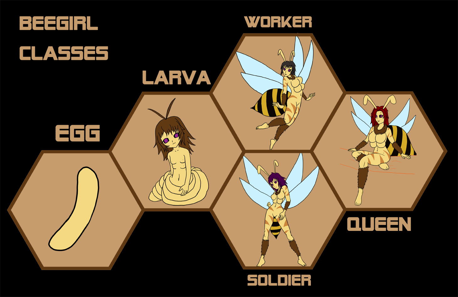 Concept - Bee-girls by buck3
