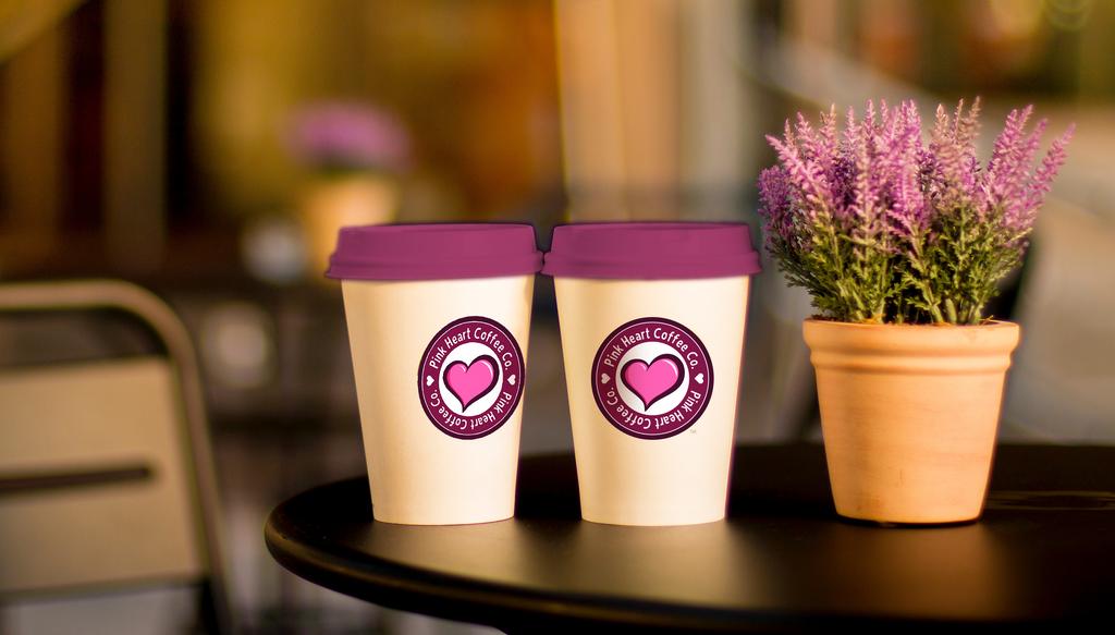 Pink Heart Coffee by buck3
