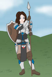 Champion Candidates: Sybil - The Cleric by buck3
