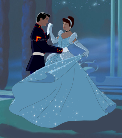 Cinderella And Her Marine By AngeVilainAmour