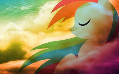 MLP Wallpaper: Rainbow Dash by JeffCross