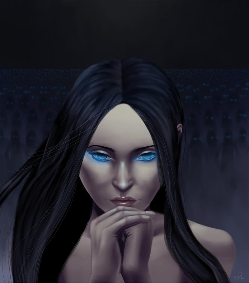 DnD character  - Tia Al'Lankarri by miimystery