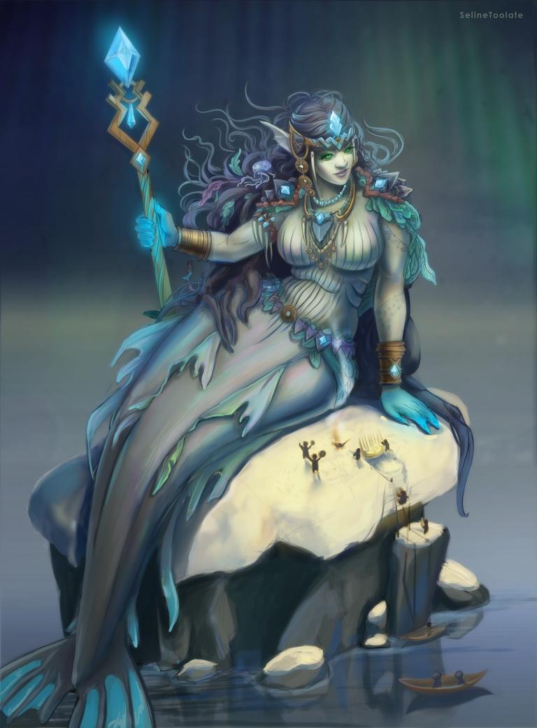 Arctic Mermaid by SelineToolate