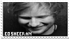 ed sheeran stamp by r0ck-on