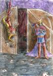 The open door by Aldanika