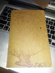 My Little Idea Book - Front Cover - 2013-12-14 by norahaura