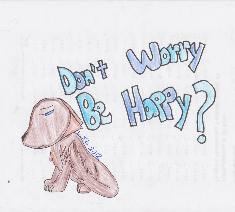 Don 39 t worry be happy by linklovesfishsticks on deviantart for Dont worry be happy fish