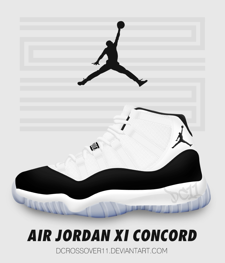 ... air jordan xi concord by dcrossover11 ...