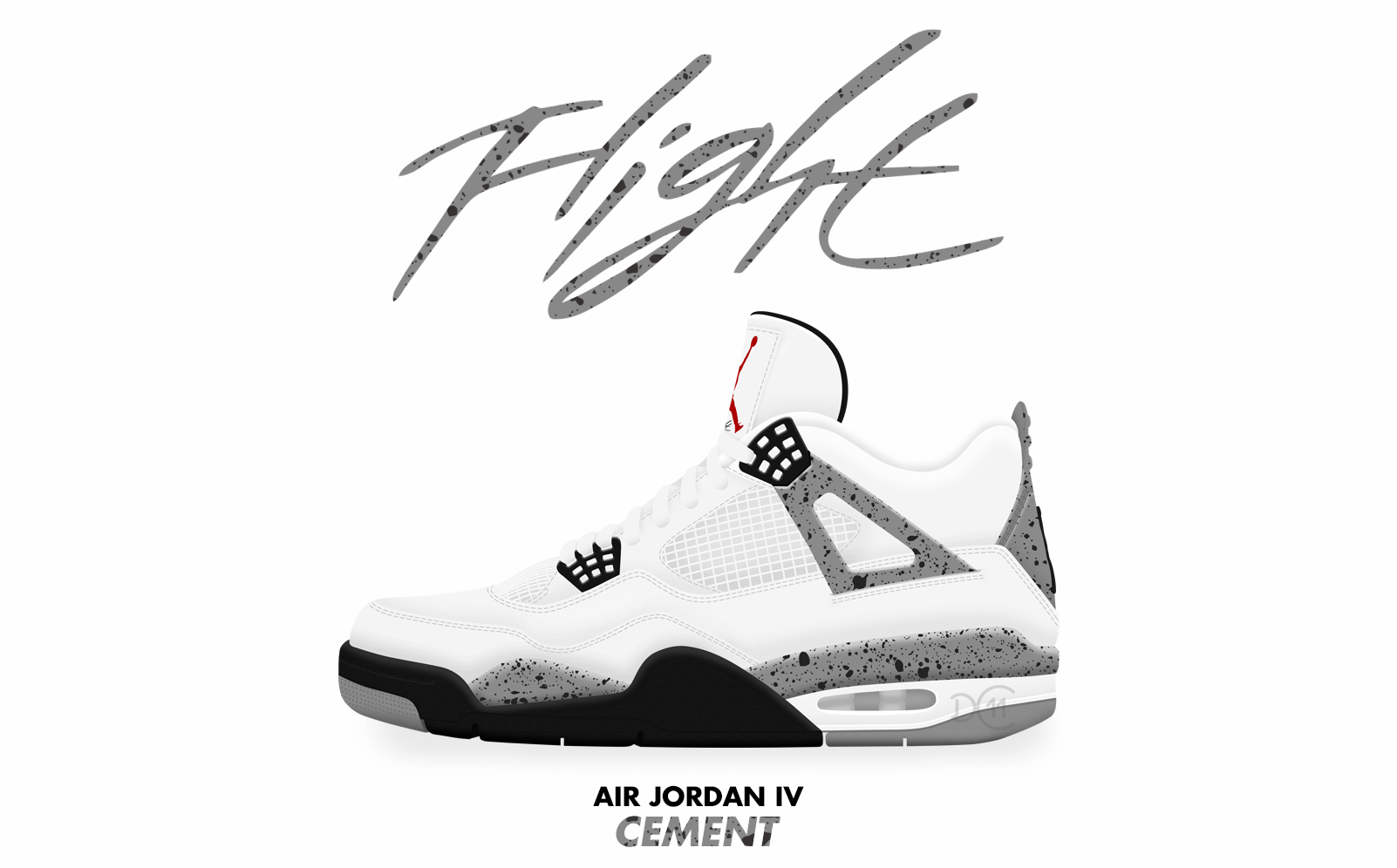 newest 0f238 bb7b2 low price nike mens air jordan 4 retro cement white fire red black leather  size 8 8c600 d8929  promo code for air jordan iv cement by dcrossover11  34c94 ...