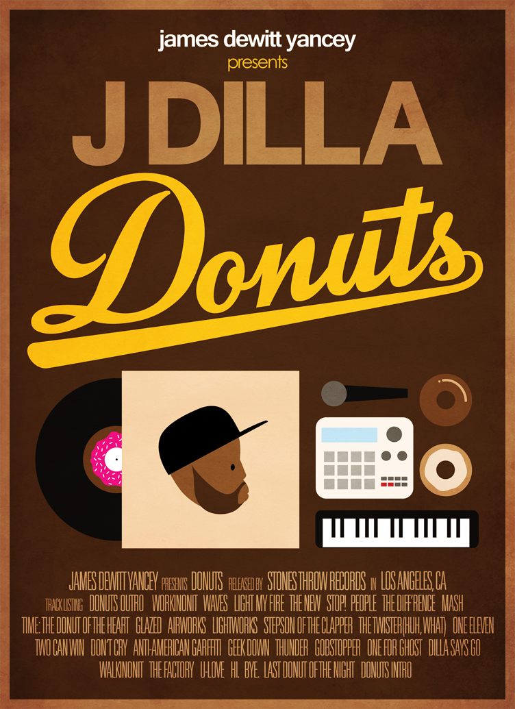 J Dilla - Donuts by DCrossover11 on DeviantArt