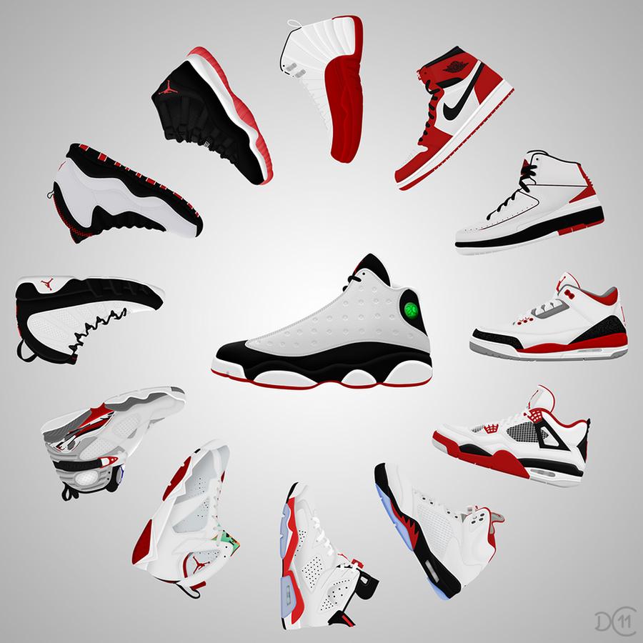 Air Jordan Sneaker Clock by DCrossover11 on DeviantArt