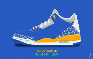 Air Jordan III 'Do The Right Thing' by DCrossover11