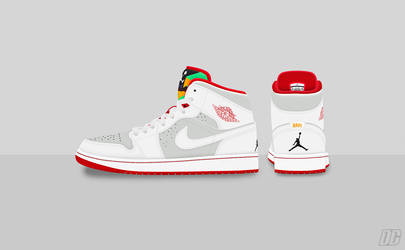 Air Jordan I 'HARE' by DCrossover11