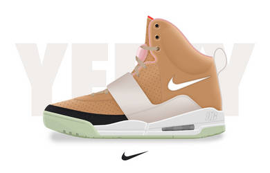 Air Yeezy I 'Net' by DCrossover11