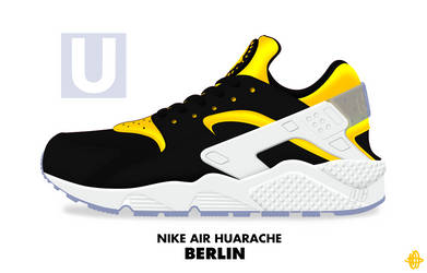 Nike Air Huarache 'Berlin' by DCrossover11
