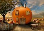 Pumpkin garden by cristalreza
