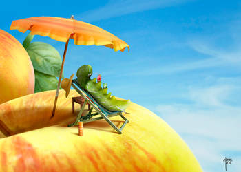 Caterpillar holidays by cristalreza