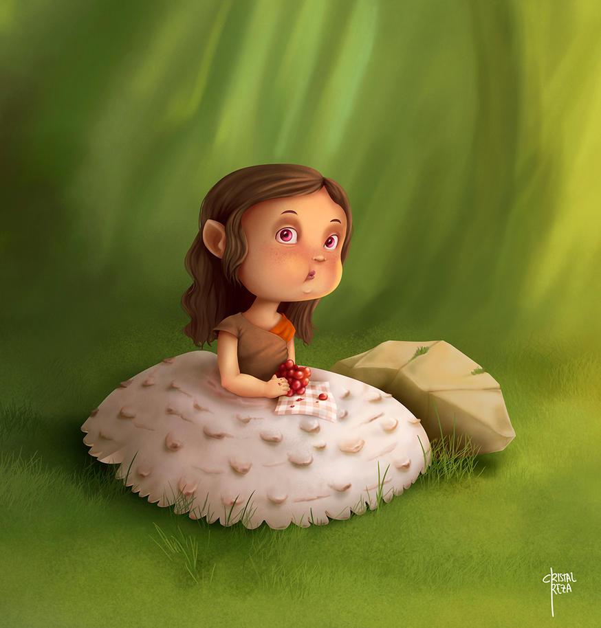 Little Mushroom by cristalreza