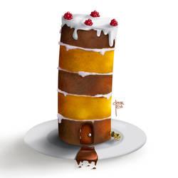 Cake by cristalreza