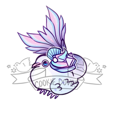 Purple Pastel Pearl Cupcake by cookiedove-database