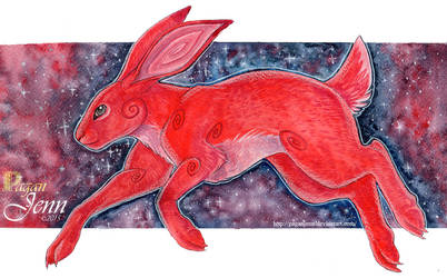 .Red Hare. by PaganJenn