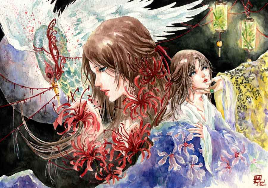 Phoenix's tears by 69XuXu69