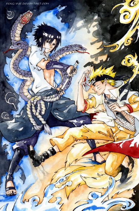 Uchiha Sasuke  x Uzumaki Naruto by 69XuXu69