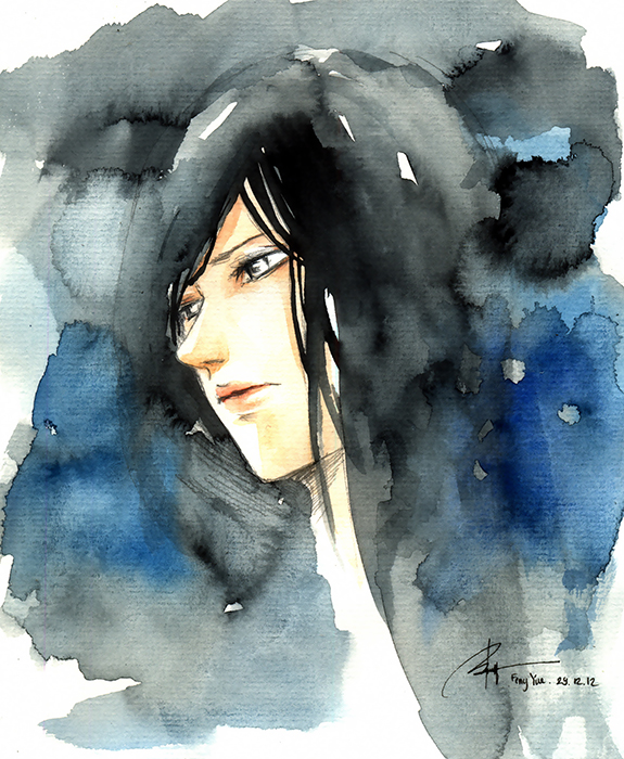 Watercolour Sketch by 69XuXu69