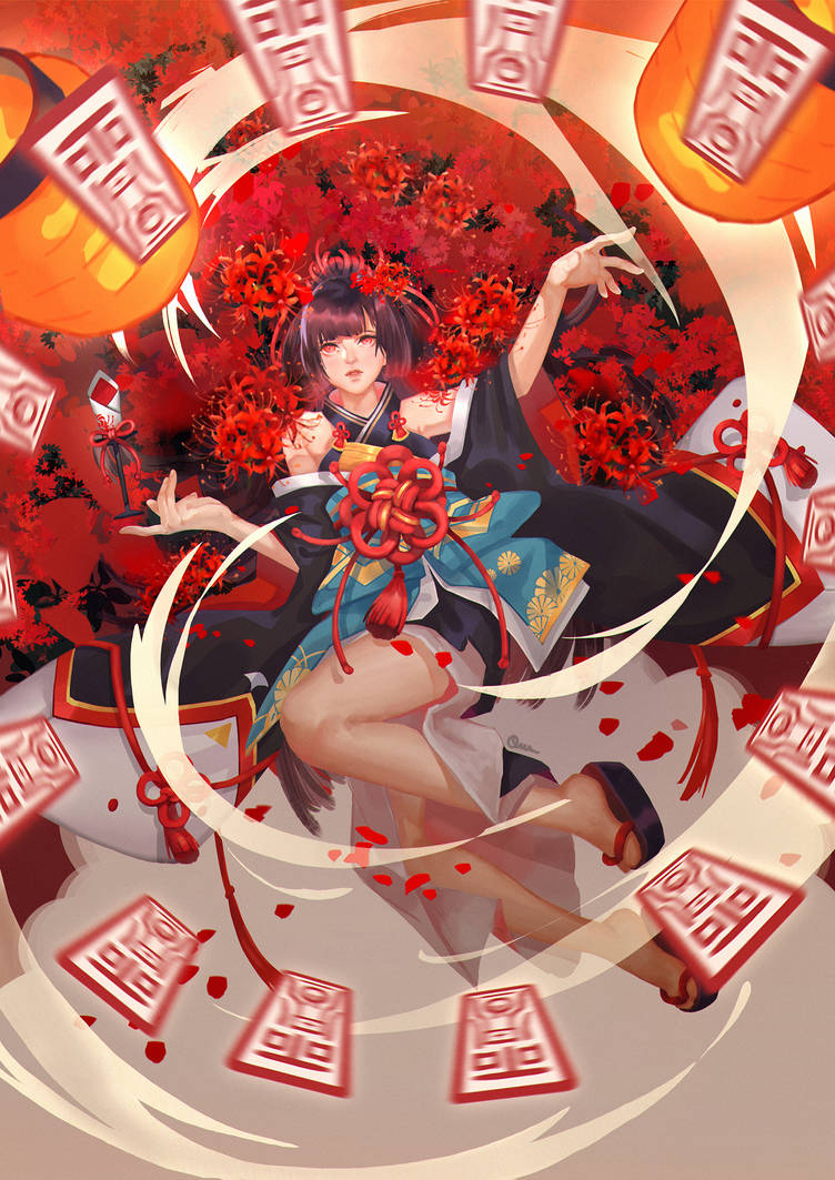 [Onmyoji Fan Art Contest] Higanbana
